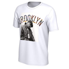 Nike Tees WHT / S Brooklyn Nets Nike Music Collection Biggie Graphic Tee - White