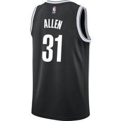 Nike Jersey Y/S (8) Youth Brooklyn Nets Nike Dri-FIT Jarrett Allen Swingman Icon Jersey - Black