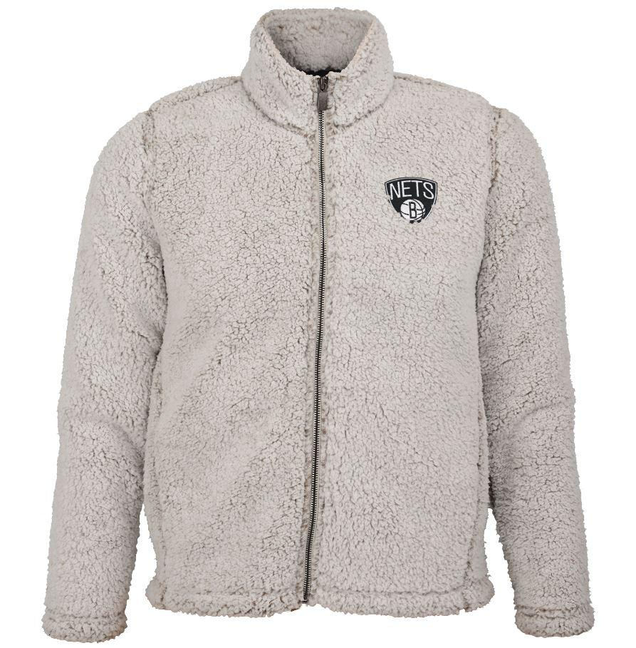 Youth Girls Sherpa Fleece Jacket - NetsStore.com