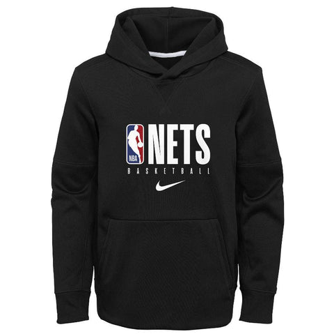 Brooklyn Nets Nike Youth On Court Performance Spotlight Hood - NetsStore.com
