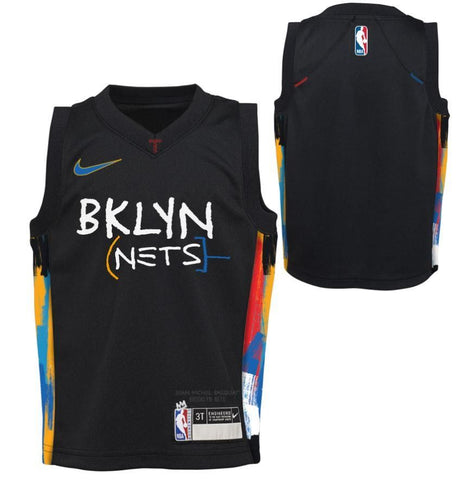 Preorder: 20-21 City Edition Toddler Replica Jersey - NetsStore.com