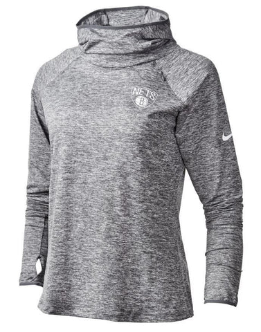 Brooklyn Nets Women's Nike Element Pullover Hoodie - NetsStore.com