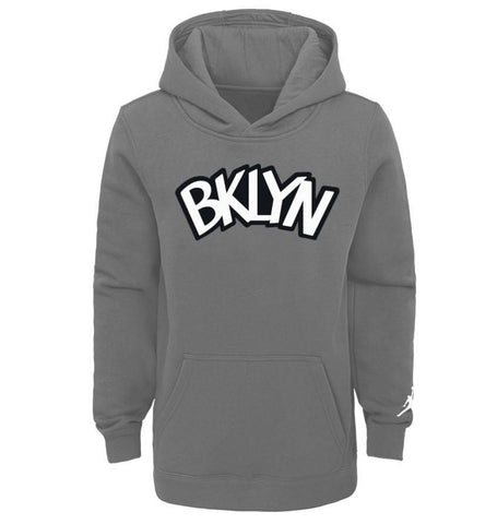 Youth 20-21 Statement Edition Jordan Brand Logo Hood - NetsStore.com