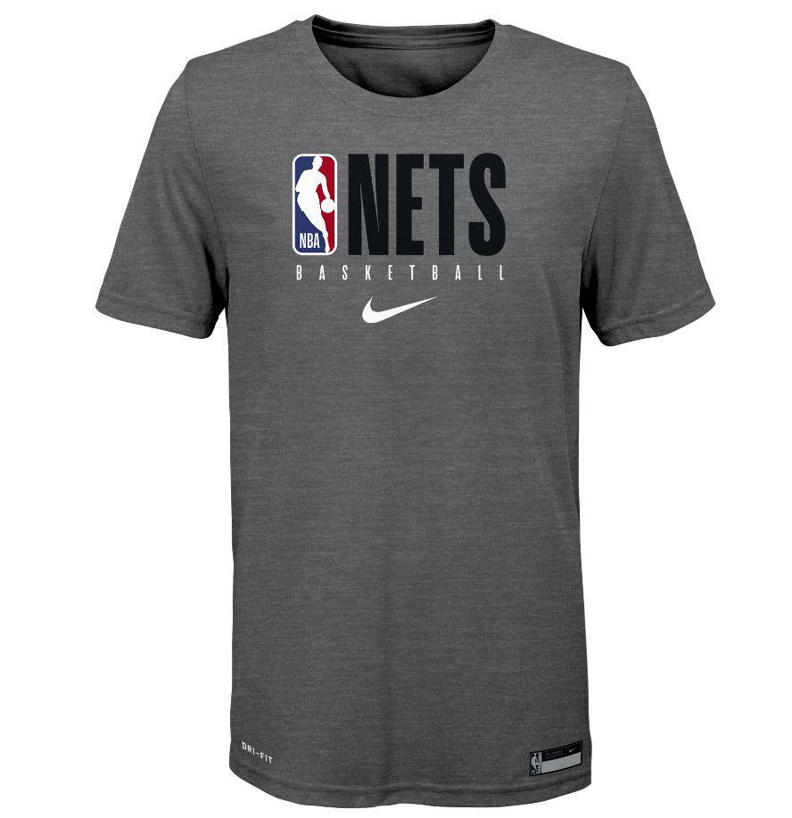 Brooklyn Nets Nike Youth Practice Logo Tee - NetsStore.com