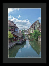 Load image into Gallery viewer, The Village Of Colmar In France - Framed Print 10.625 X 16.000 / Black