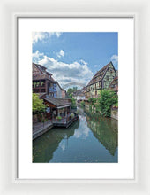 Load image into Gallery viewer, The Village Of Colmar In France - Framed Print 10.625 X 16.000 / White