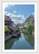 Load image into Gallery viewer, The Village Of Colmar In France - Framed Print 26.750 X 40.000 / White