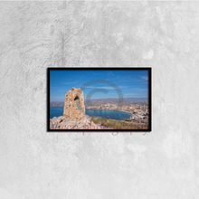 Load image into Gallery viewer, Tower And Views To Calabardina In Murcia - Canvas framed