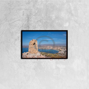 Tower And Views To Calabardina In Murcia - Canvas framed
