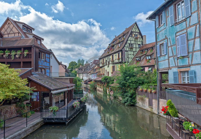 The little Venice in Colmar