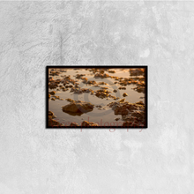 Load image into Gallery viewer, Small Stones On The Beach - Canvas Framed 50Cm×30Cm