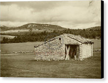 Load image into Gallery viewer, Abandoned House With Old Photo Effect - Canvas Print