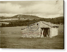 Load image into Gallery viewer, Abandoned House With Old Photo Effect - Acrylic Print