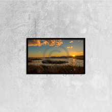 Load image into Gallery viewer, Sunset in the natural park of prat de cabanes - Canvas framed
