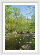 Load image into Gallery viewer, River In A Forest Of The Picos De Europa - Framed Print