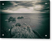 Load image into Gallery viewer, Ortegal Cape With Black And White Old Photo Effect - Acrylic Print