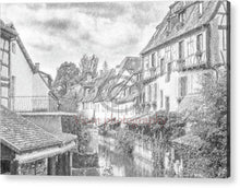 Load image into Gallery viewer, Colmar In France With A Drawing Effect - Acrylic Print