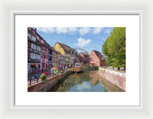 Load image into Gallery viewer, Colmar In France With An Impasto Effect - Framed Print