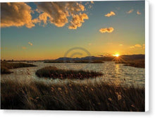 Load image into Gallery viewer, Sunset In The Natural Park Of Prat De Cabanes - Canvas Print