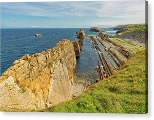 The Beach Of Arnia In Cantabria - Acrylic Print
