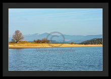 Load image into Gallery viewer, The Reservoir Of The Ebro In Cantabria - Framed Print