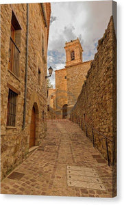 The Town Of Culla In Castellon - Canvas Print
