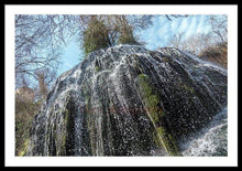 Load image into Gallery viewer, Waterfall In The Monasterio De Piedra - Framed Print