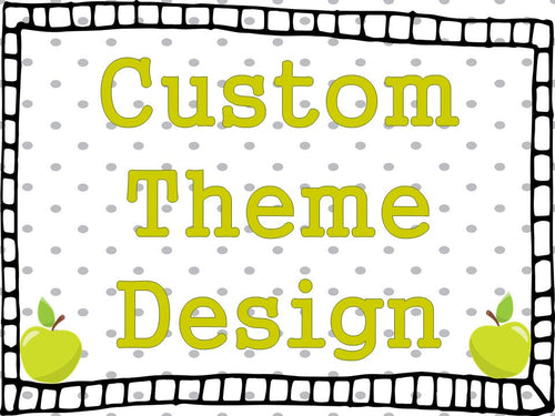 Custom Design Fee for any Little Lennons product being designed from scratch by request