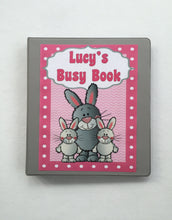 Bunny rabbit Dry Erase Activity Book/ Busy Book/ Quiet Book/ Binder/ Educational Toy/ Custom Made/ Unique Gift for Children/ Preschool