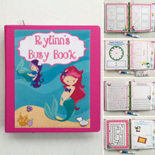 PreK Mermaid Dry Erase Activity Book/ Busy Book/ Quiet Book/ Binder/ Educational Toy/ Custom Made/ Unique Gift for Children/ Preschool/kids