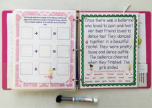 Ballerina Busy Book, Learning Binder Age 5, kindergarten, Quiet Book, Dry-erase  Activity Book, Travel, Games, Educational toy, custom