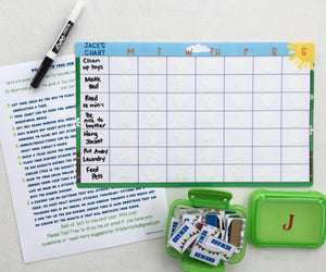 Train Weekly Chart, dry erase, task chart, sticker chart, chore chart, blank, write on, kids, reward chart, laminated, goal chart, custom