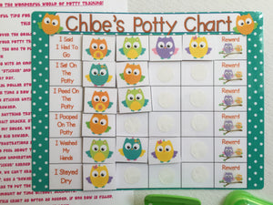 star chart potty training