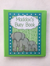 Animal Busy Book, Quiet Book, birthday gift, Learning Binder