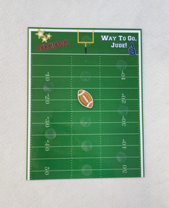Football Incentive Chart, personalized, reward, star