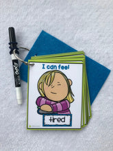 Emotions Clip Cards, flash cards, preschool learning, feelings