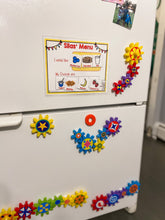 Shipped Food Choice Board, Menu, visual, autism
