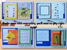 Cowboy Personalized Busy Book, Quiet Book, Dry Erase/ activity book, Preschool Learning, Educational Toy, kids ages 1-7, 20 activities