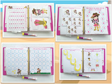 Cowgirl Personalized Busy Book, Customized Quiet Book, Preschool Activity Book, Dry Erase, Educational toy, age 3, Teacher made, Travel game