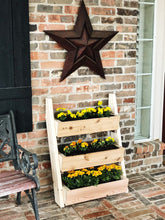 Load image into Gallery viewer, Black Vertical Planter, Raised Garden Bed, Modern Planter, Wood Planter Box, Plant Lover Gift, Plant Holder, Plant Stand, Succulent Planter