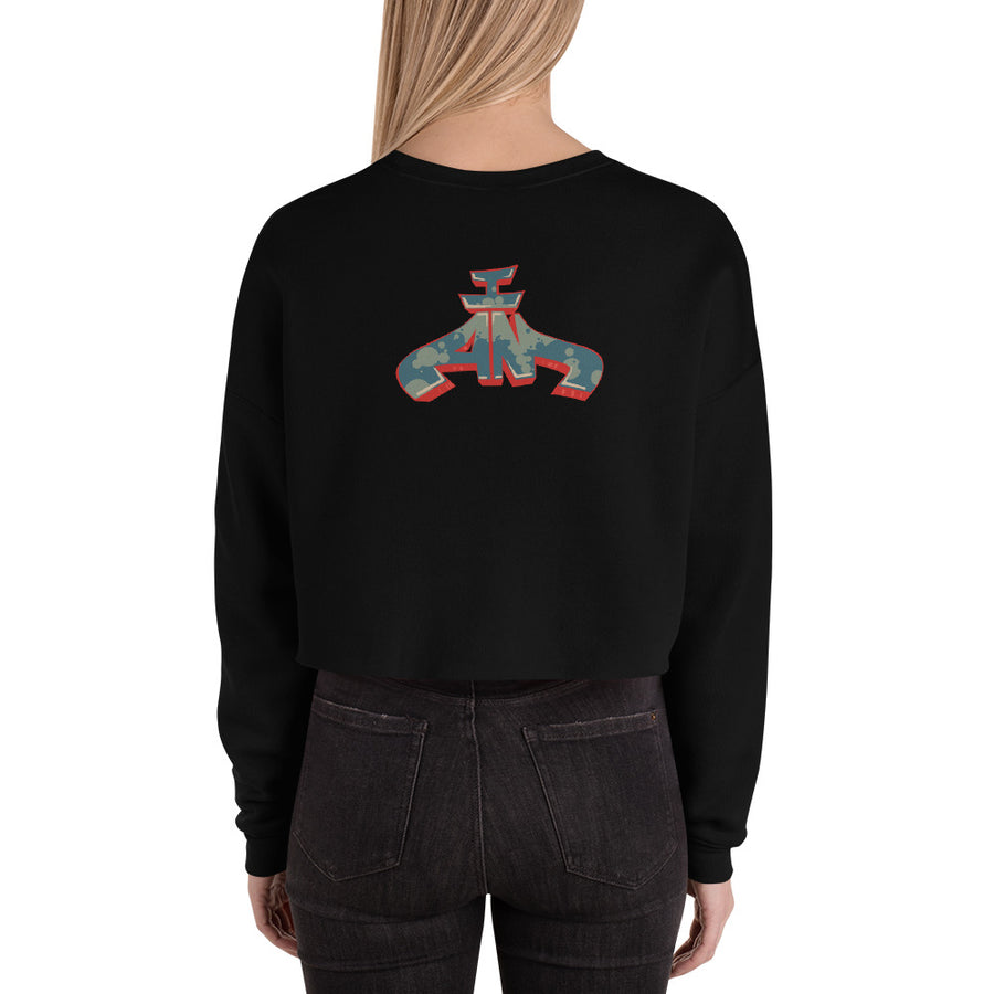 RAW IDEAS Crop Sweatshirt