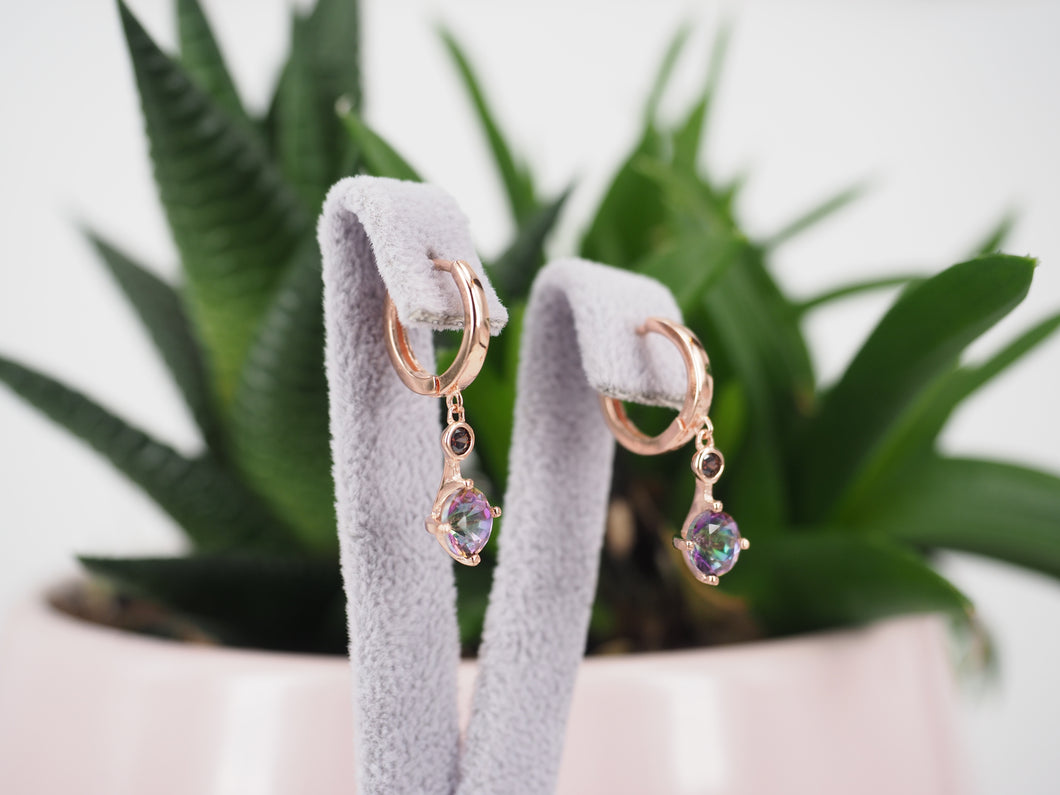 Earring Topaz Mini Drops