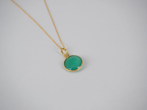 Necklace Greenquartz