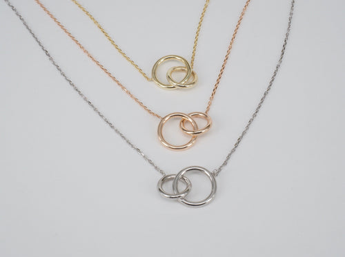 Necklace Layered Circles