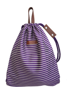 Bag Bellis Purple White