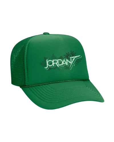 Jordan T - Green Trucker Hat