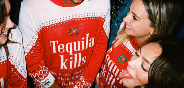 Los Sundays tequila kills sweater