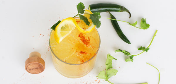 Citrus Serrano Crush cocktail Los Sundays tequila
