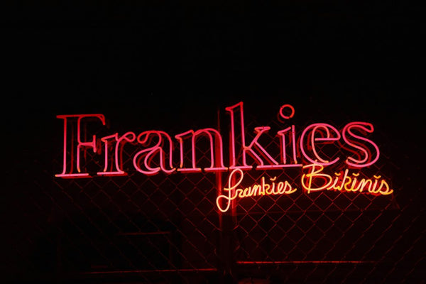 Frankies bikinis and Los Sundays tequila