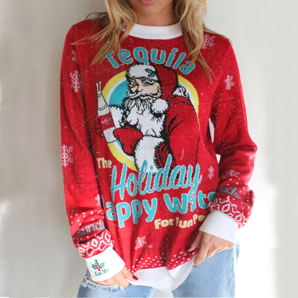 THE HAPPY HOLIDAY SWEATER
